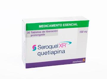 Quetiapina Seroquel Xr 150Mg Tabletas Caja X30Tab. Astrazeneca