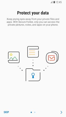 Secure Folder Android App Screenshot