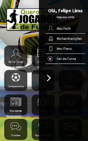 android Quero ser Jogador de Futebol Screenshot 6
