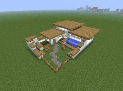 350 Modern House for Minecraft - náhled