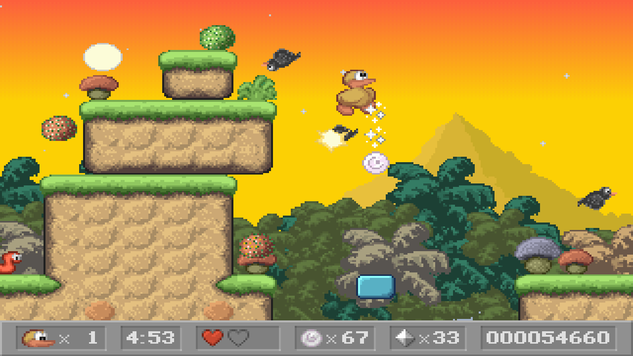 Charlie the Duck- screenshot