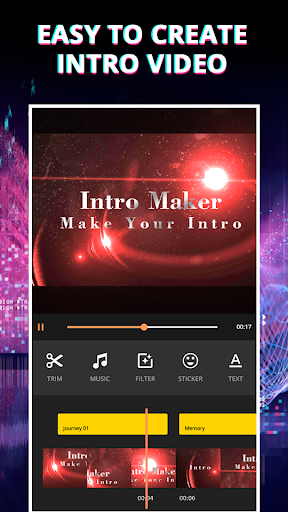 Video Intro Maker - Video Editor For Youtube 1.1.28 screenshots n 2