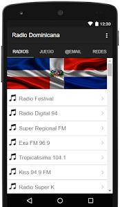 Radio Dominicana screenshot 4