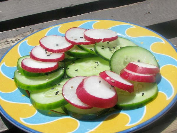 Japanese Crunchy Cucumber And Radish Salad Recipe
