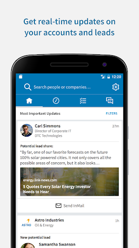 LinkedIn Sales Navigator 4.5.3 screenshots 1