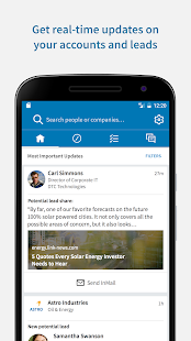 LinkedIn Sales Navigator- screenshot thumbnail