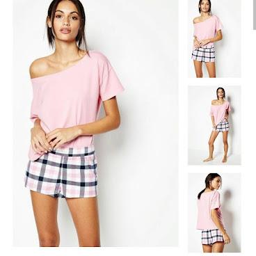 Jack Wills 粉紅睡衣套裝