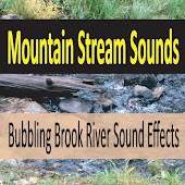 Mountain Stream Sounds (Bubbling Brook River Sound Effects)