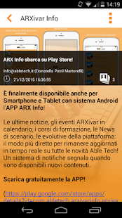 ARXivar Info- screenshot thumbnail