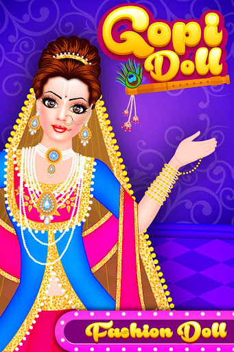 Gopi Doll Fashion Salon - Dress Up Game  code Triche 1