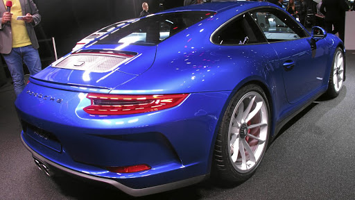 Porsche lopped the wing off the 911 GT3 for the Touring Pack version.  Picture: MARK SMYTH