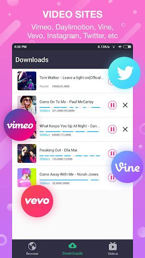Video downloader 1.3.3 screenshots 21