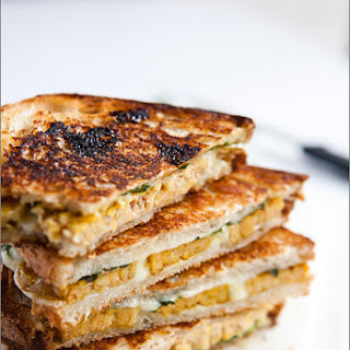 Curried Tempeh Grilled Cheese Sandwich with Mango Chutney Recipe
