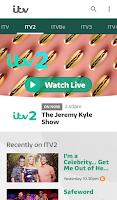 Screenshot of ITV Hub