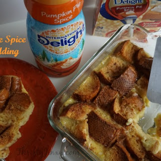 Pumpkin Pie Spice Bread Pudding
