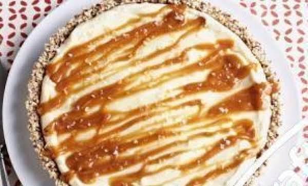 White Chocolate Salted Caramel Tart