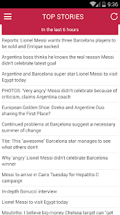 Lionel Messi News - náhled