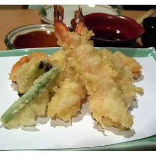 Japanese Vegetable In Tempura Batter.
