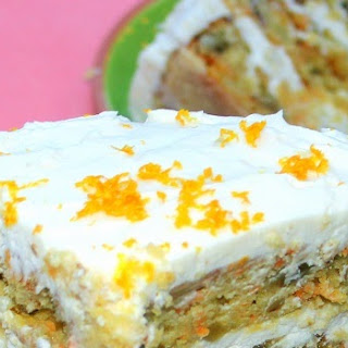 LOADED Caribbean CARROT CAKE