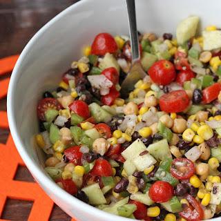Skinny Chickpea Summer Salad