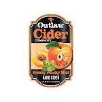 Outlaw Cider Company Freaky Peachy Mint Hard Cider