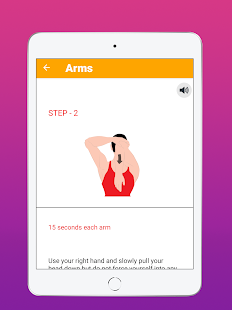 Stretching Flexible Exercises Screenshot