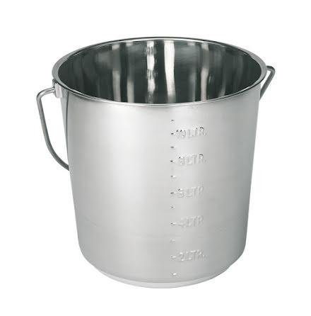 Hink 12,3 Liter Rostfri