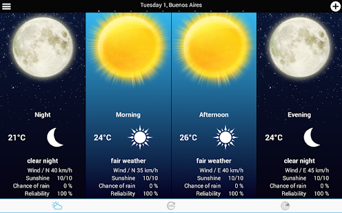 Weather for Spain- screenshot thumbnail