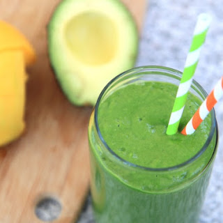 Tropical Green Smoothie.