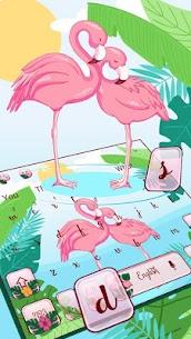 Pink Flamingo Keyboard Theme Premium Apk (Cracked) 1