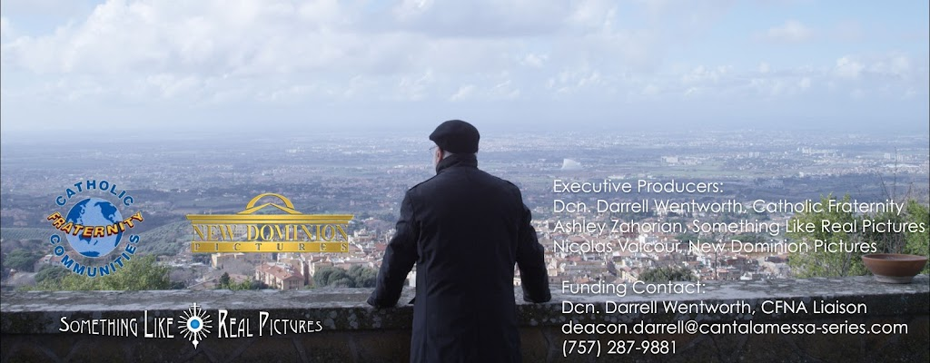 Cantalamessa overlooking Rome