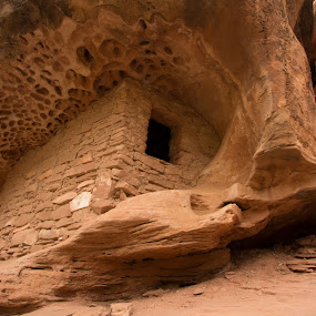 Honeycomb Ruin by Stephen Berry - Buildings & Architecture Public & Historical ( utah, ruin, indian, anasazi )