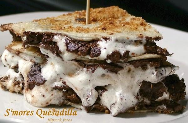 S'mores Quesadilla Recipe