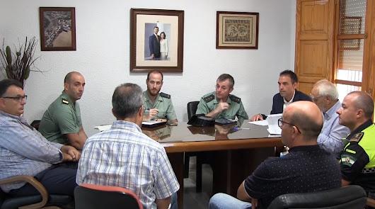 Junta Local de Seguridad celebrada este martes en Antas.