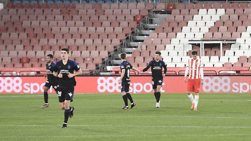 La Ponferradina cayó en el Mediterráneo el año pasado por 3-1.