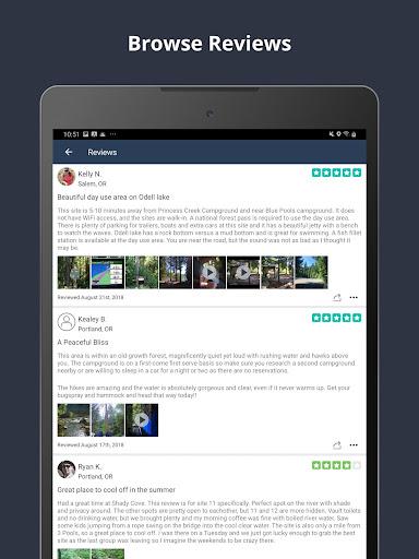 The Dyrt Camping App: Tent & RV Campsites Finder 3.1.36 screenshots 17