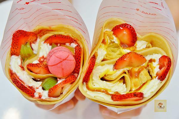 Fun tower 日式可麗餅~日本東京夢幻可麗餅店進軍嘉義,滋味酸甜且多層次口感的可麗餅,吃過就上癮,大推草莓千層卡士達口味,近嘉義女中、文化路