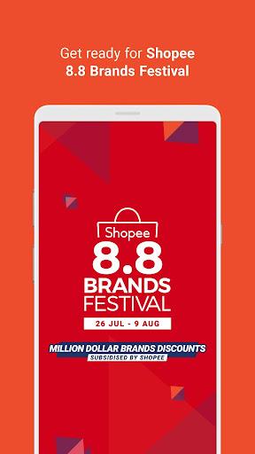 Shopee 8.8 Brands Festival 2.58.20 screenshots 2