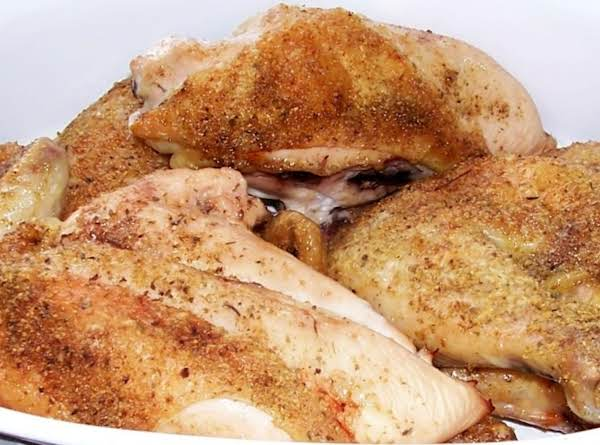 Peggi's Oven Roasted Chicken Recipe
