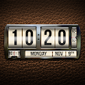Leather Clock Live Wallpaper icon