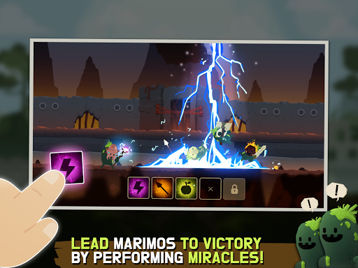Marimo League : Be God, show Miracles on battles! - screenshot