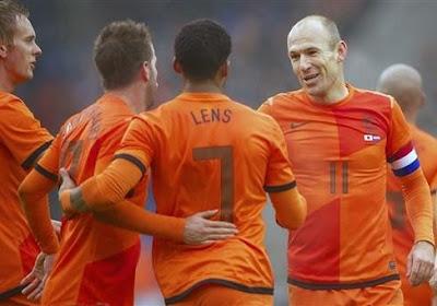 Robben, l'acrobate