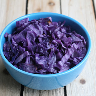 Oven Red Roasted Cabbage (AIP, Paleo).