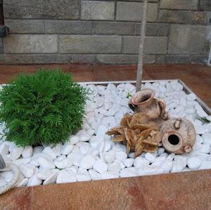 Pietricele decorative, Albe - 3 kg