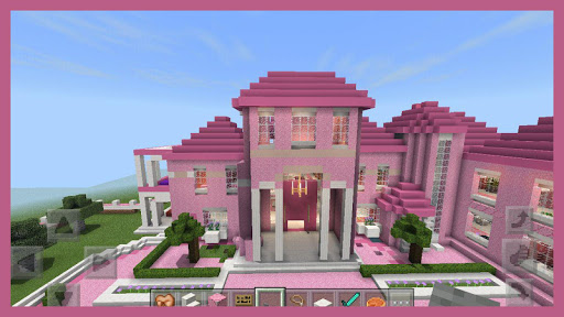 Pink Princess House maps for MCPE 1.4 screenshots 2
