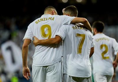 """Eden Hazard et Karim Benzema : """"C'est mieux d'affronter la France sans lui"""""""