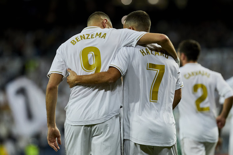 🎥 Assists d'Eden, buts de Karim: le duo Hazard-Benzema se régale à l'entraînement