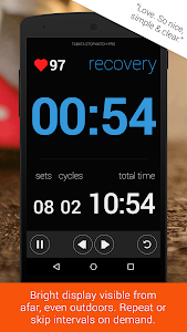 Tabata Stopwatch- Tabata Timer v1.6.9 (Pro)