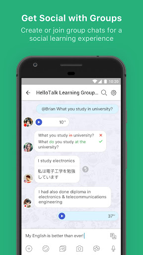 HelloTalk Learn Languages Free 2.5.2 screenshots 5