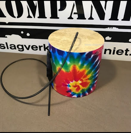 "6"" x6"" Remo Thunder Tube - Tie Die Graphics"